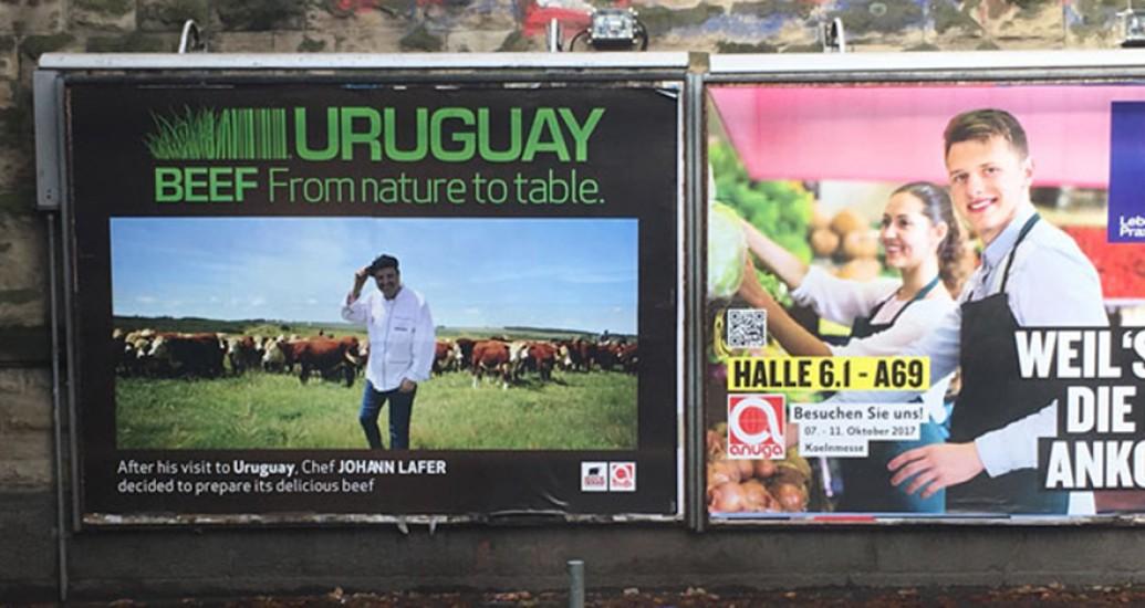 Uruguay marcó fuerte presencia en Alemania